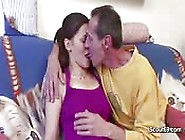 Stepdad Bangs His Innocent Teen Girl