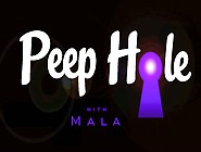 Peep Hole,  A Video Featuring Mala,  By Pinup Artist Mike James
