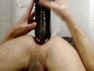 Xxxxl Black Dildo - Twink Riding Giant Didlo