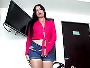 Dark Haired Latina Gives Head And Rides Boner
