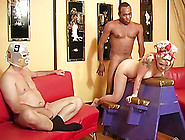 Exquisite Blonde Has Interracial Sex In Front Of Her Cuckold