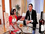 Japanese Cheer Babe Is His Sexual Conquest As He Fills Her Pussy