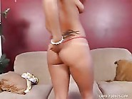 Camel Toe Slut Gets Banged Senseless