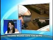 Andressa Soares Mulher Melancia Gostosa No Programa Do Gugu 05 1