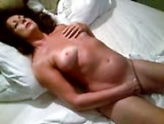 Naked Slut Wife Masturbates For Husband
