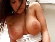 Busty Brunette Austin Kincaid - Cock Teaser