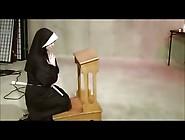 Chubby Lesbian Nun Dominated By A Lesbian
