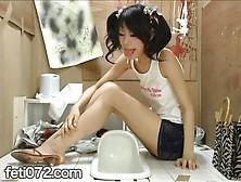 Lunch Break In The Toilet.