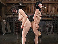 Kinky And Orgasm Craving Bimbos Are Punished In This Bdsm Scene