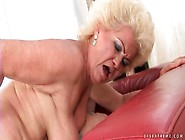 Big Ass Granny Slut Rides A Stiff Dick