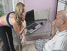 Dj Oscar Leal Son Helps Mom With Computer