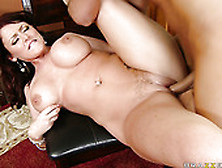 Shaved And Wet Pussy Of Sophie Dee Gets Poked Hard