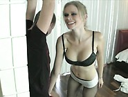 Busty Blonde Vanessa Vixon Puts On A Sexy Lingerie And Pleases A