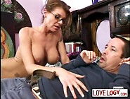 Older Women Younger Men Kayla Quinn,  Big Boobs Brunette One Milf