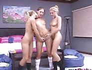 Erotic Dolls Around Sleaze Butts Poses In The Nude And Have Lesb