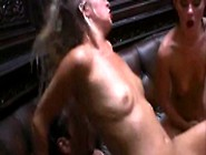 Two Hot Chicks Seduces The Bar And Get Into A Threesome