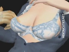 3D Anime Angel Gets Pussy Rubbed