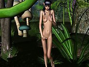Hot 3D Cartoon Elf Fucked By A Mosnter Outdoors