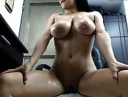 Latina With Moving Breasts And Pussy