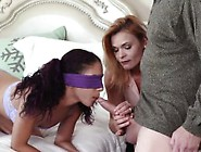 Ally's Daughter Having Fun With Mom Family Sex Education