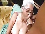 Big Breasted Granny Gets Her Some Hard Black Dick