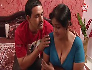 Young Guy With Mallu Servant Radha [Courtesy - Youtube. Com Mallu