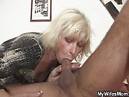 Blonde Mature Girlfriend Takes It From Behind