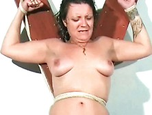 Electro Torture Of Mature English Housewife