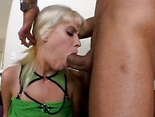 Hot Blonde Slut Takes Cock Deep