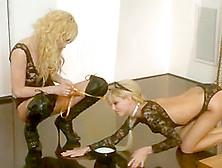 Ultra Hot Blonde Lesbian Babes