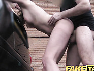 Housewife Gets Her Wet Pussy Fucked In Taxi