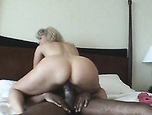 Stacked Blonde Wife With A Perfect Ass Enjoys A Black Cock On Th