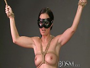 Bdsm Xxx Tied Up Sub Beauty Gets Masters Full Attention In Dunge