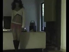 Czech Girlfriend Gives Tempting Striptease Dance -