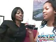 Ebony Lesbian Hotties Licking Wet Black Cunts