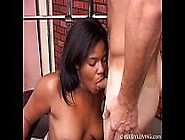 Super Cute Chubby Black Chick Loves To Suck Cock And Get Her Fat