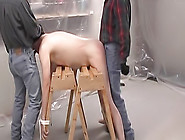 Slave Ass Is Spanked And Fucked From Behind