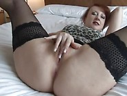 Milf Removes Panties And Plays
