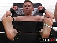 Uncut Male Boys Feet Gay Sebastian Tied Up & Tickled