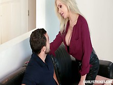 Blondie Nina Elle Sucks Dick And Gets Her Slit Rammed