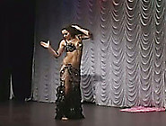 Sexy Indian Belly Dancer Is Also A Hot Brunette Milf
