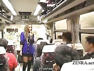 Subtitled Japanese Gyaru Virgins Bus Ride Rock Paper