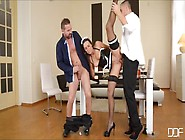 Two Drunkards Raping A Sexy Maid Named Mea Melone