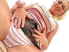 Blonde Juliya Sunrise In Panties Enjoys Hardcore Fucking