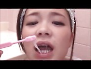 Compilation Asian Cum Brushing 8