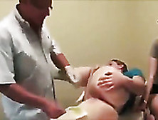 A Bit Of Brazilian Waxing With A Kinky Light Haired Volunteer