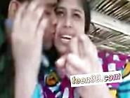 Indian Village Girl Kissing Boyfriend In Outdoor - Www. Teen99. Co