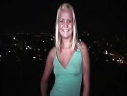 Public Teen Orgy Gang Bang With A Hot Blonde Girl And Several Ra
