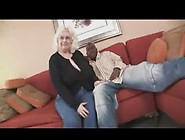 Busty Grannie 70Yo Seduces A Black Boy