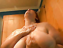 Terrific Ssbbw Mature Wife Takes Shower Stunning Me With Her Rum